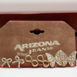 Arizona Jean Co. Earrings - 3 Pairs